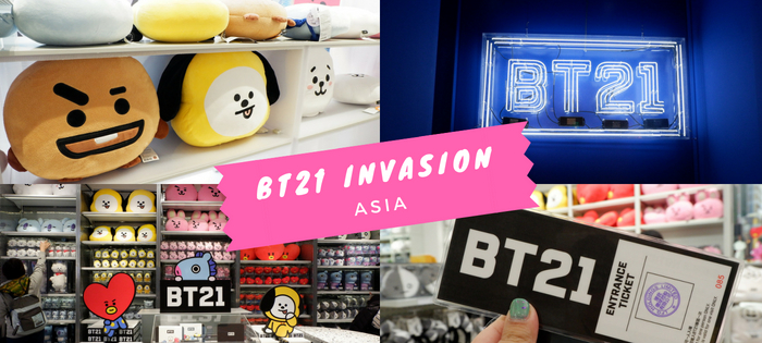 BT21 Invasion
