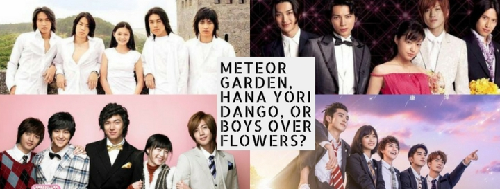 'Hana Yori Dango' adaptation through the years